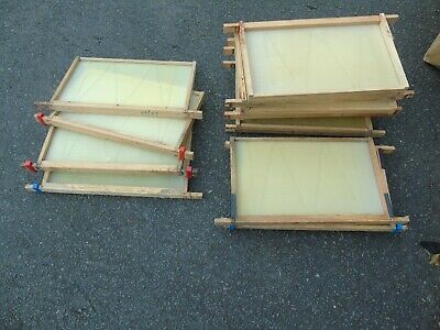 National Bee Hive 16 Used Brood Frames with Unused Foundation