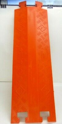 "New LINEBACKER 36"" Drop Over 1-Channel Cable Protector, Orange, CP1X125-GP-DO/O"