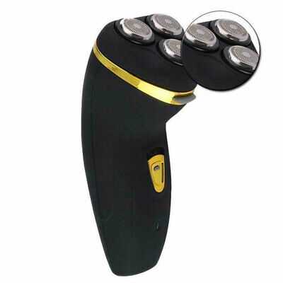 Mens Electric Shaver Rechargeable 3D Triple Floating Head Trimmer Razor
