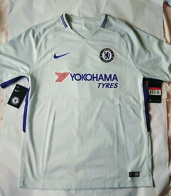 huge discount 2a267 7c8bd CHELSEA AWAY SHIRT 2018/19, Hazard No 10 Available, Size S ...