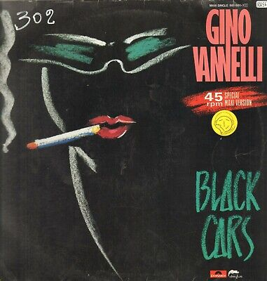 Gino Vannelli – Black Cars - Disques Dreyfus – 881 681-1 - Ger 1984