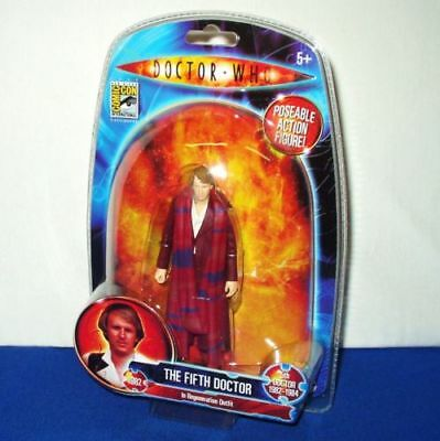 Doctor Who - 5th Doctor Regeneration Burgundy SDCC new mint wow