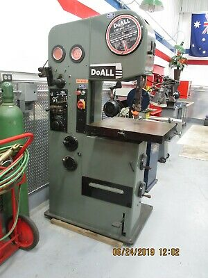 DO ALL VERTICAL BAND SAW Model DBW-15