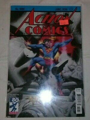 "Action Comics #1000 NM Steve Rude ""1930s"" Cover Bendis Superman 80 Page Giant"