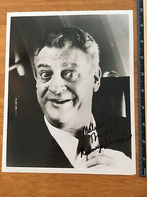 Rodney Dangerfield Hand Signed Autograph - A Collectors Must Have