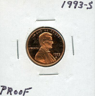 1993-S 1c Proof United States Lincoln Memorial Cent BH690