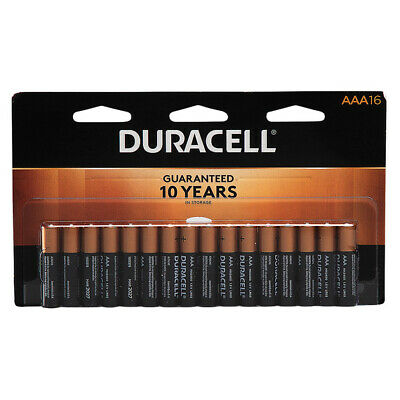 Duracell - CopperTop AAA Alkaline Batteries - 16 count - EXP. 2028 Brand New