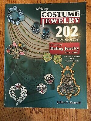 Collecting Costume Jewelry Paperback Book Julia C Carroll 202 Second Edition