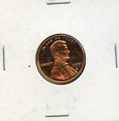 1997-S 1c Proof United States Lincoln Memorial Cent BH720