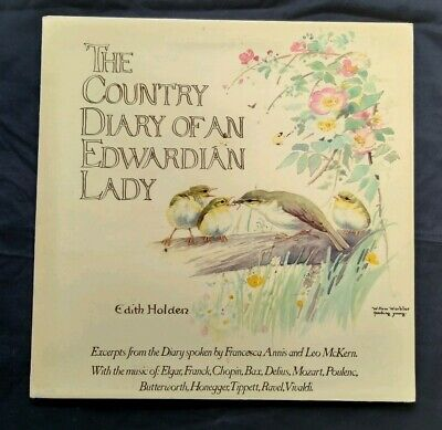 Edith Holden ( LP Gatefold)The Country Diary Of An Edwardian Lady 1ST Press EX