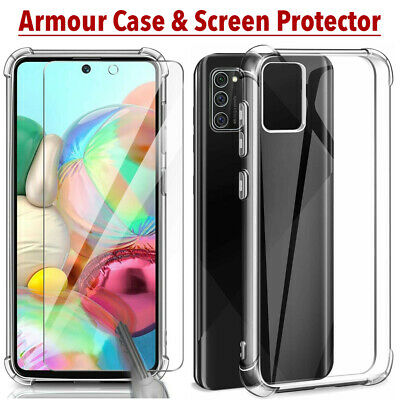 Case for Samsung Galaxy A40 A50 A70 Shockproof Clear AIR Case & Screen Protector