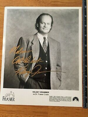 Kelsey Grammer Hand Signed Autograph - A Collectors Must Have