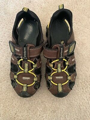 Toddler size 7-13.5 /& 1-3 Youth Navy Lime NEW Pediped Flex CANYON shoes