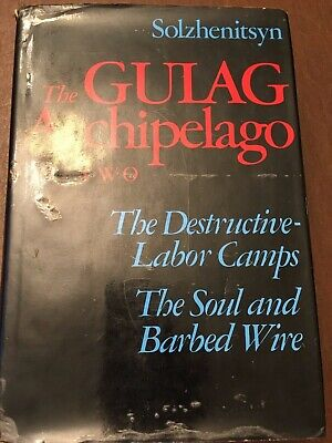 The Gulag Archipelago Two by Solzhenitsyn Harper and Row Hardcover 1975