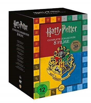 Harry Potter - The Complete Collection ( 8 DVD Sammleredition )