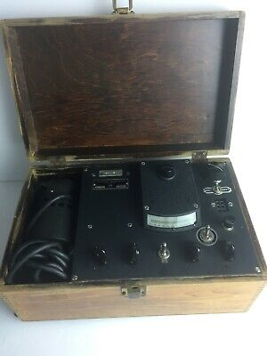 Photovolt Photoelectric Reflection Meter in Wood Case w/Instructions -  Antique