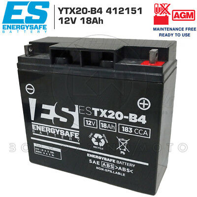 Batterie Gel Versiegelt Energy Safe 12v 18ah BMW R 1100 S 1996-2006