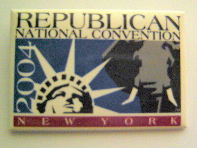 "REPUBLICN National Convention New York 2004 PIN 2"" x 3"""