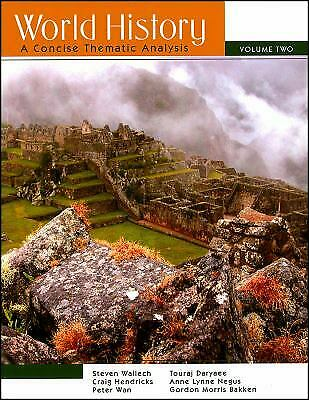 World History Vol. 2 : A Concise Thematic Analysis