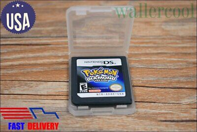 New Nintendo DS Pokemon Diamond version Game Card for 3DS NDSI NDS NDSL US