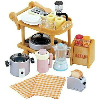 Sylvanian Families  Kitchen Cookware Set 5090