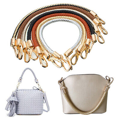 Bags Accesories Replacement Handle Universal Round PU Handbag Bags Strap