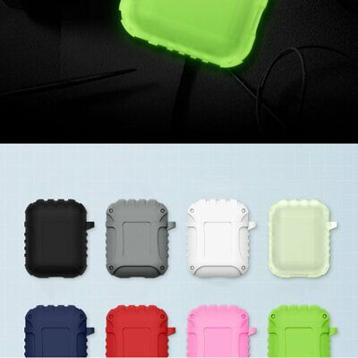 For AirPods Case Silicone Protective Cover Earphone Holder Anti-Lost Case 1# SH