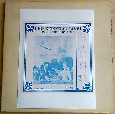 LED ZEPPELIN LIVE on Blueberry Hill - Rock LP - 2 Lps