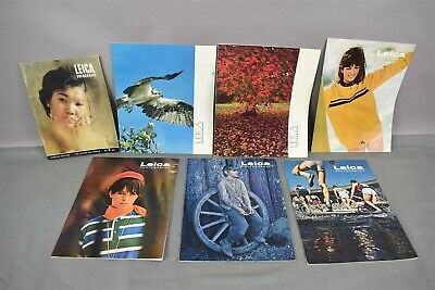 Vintage Leica Photography Magazines 1960s 1967-1971 Lot of 7
