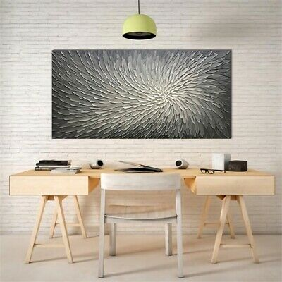 Large Modern Flower Canvas Print Abstract Art Home Wall Decor Painting Poster