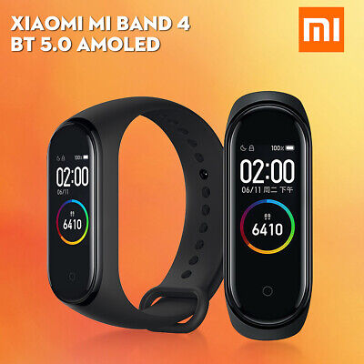 Xiaomi Mi Band 4 Smart Watch bluetooth 5.0 Sport Bracelet Wristband iOS Android