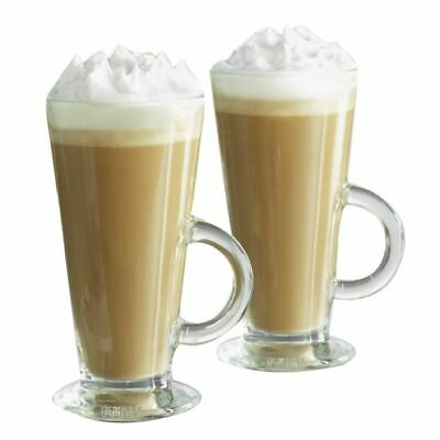 Rayware Essentials Footed Latte Glass 26cl, 10 x 8 x 15 cm