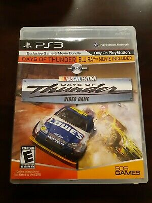 Days of Thunder Nascar Edition **PS3**USED** Game and Blu-Ray