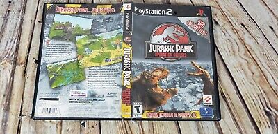 Jurassic Park: Operation Genesis (Sony PlayStation 2, PS2) Case Only