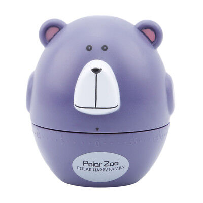 Kitchen Timer Cute Animal Kitchen Cooking Timer Mechanical Alarm 60 minutes FA