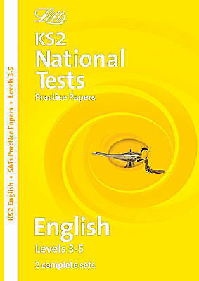 """""""VERY GOOD"""" Letts Key Stage 2 Practice Test Papers - English SATs: Levels 3-5, G"""