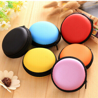 Earphone Case Storage Carrying Hard Bag Headphone Accessories Earbuds Cable Box