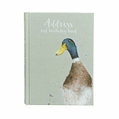 Wrendale Designs Duck Address & Birthday Book - Friends Gift Idea