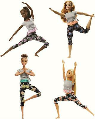 AUSWAHL: Mattel - Barbie Made to Move Puppen - Bewegliche Barbie Sportlerin
