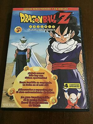 Dragon Ball Z DVD 2 - Caps 5 A 8 - 100 Min - Ed Remastered sans Censure Toei