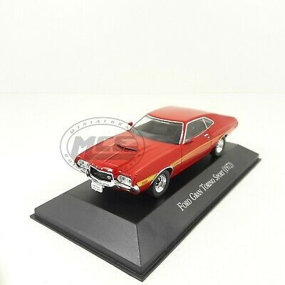 1/43	Ford Gran Torino Sport 1972 Autos Memorables Mexico Altaya