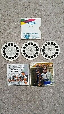 Vintage 1966 Sawyer's Viewmaster The Man From Uncle 3 Reel Set With Booklet