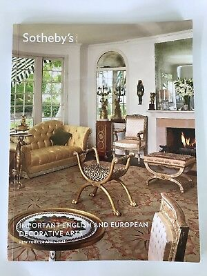Sotheby's Important English & European Decorative Arts - New York  24 April 2013