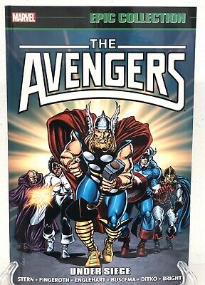 The Avengers Epic Collection Under Siege Captain America Marvel Comics New TPB