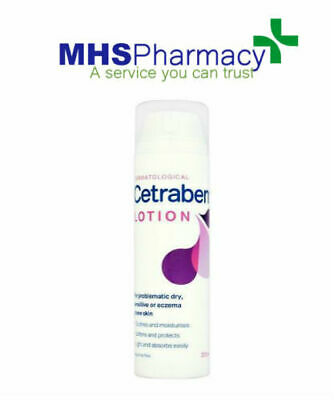 Cetraben Lotion For Dry, Sensitive or Eczema Prone Skin  200ml