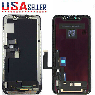 For iPhone 7 8 X XR XS OLED 3D Touch Screen Replacement LCD Digitizer Assembly