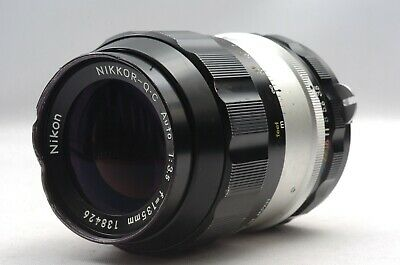 @ Ship in 24 Hrs! @ Discount! @ Nikon Nikkor-Q.C Auto 135mm f3.5 Non-Ai MF Lens
