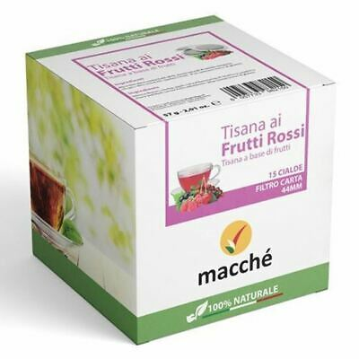 360 Capsules Filtre Papier 44MM Macchè 'Tisane aux Fruits Rouges Originals Break