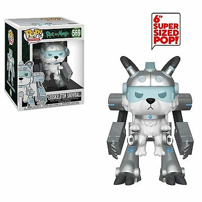 "Funko Pop Animation: Rick And Morty - Exoskeleton Snowball 6"" Vinyl Figure"