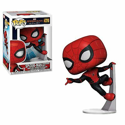 Funko Pop Marvel Spider-Man Far from Home - Spider-Man Upgraded Suit Vinyl Figu
